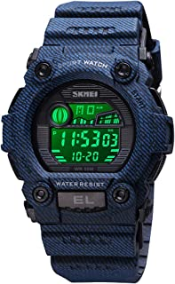 Boys Camouflage LED Sports Kids Watch Waterproof Digital...
