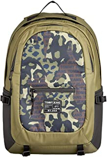 Tommy Jeans Men's Urban Tech Backpack Nylon Cam, Khaki - AM0AM06065