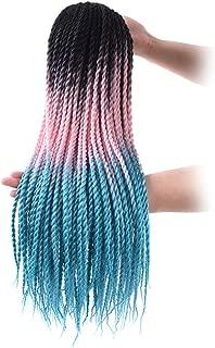 5Pcs/Lot Senegalese Twist Crochet Hair 24