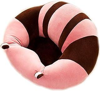 Decoración de muebles Soporte para bebé Asiento de sofá Silla de asiento para bebés Asiento de soporte para bebés Sofá para niños Aprendiendo a sentarse Silla Colorblock En forma de U Abrazo Asient