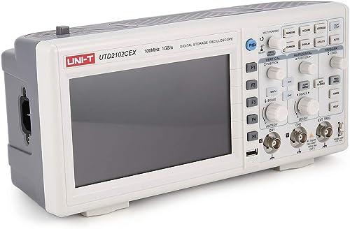 ahorra 50% -75% de descuento Comomingo Osciloscopio Digital Uni-T Scope Mini osciloscopio CH 100MHZ USB USB USB OTG 7 Pulgadas EU (blanco)  mejor calidad mejor precio