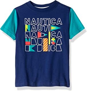 Nautica Baby Toddler Boys' Short Sleeve Graphic T-Shirt