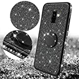 Compatible with Samsung Galaxy A8 2018 Case,Glitter Case