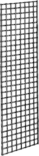 Grid Panel for Retail Display – Perfect Metal Grid for Any Retail Display, 2' Width x 6' Height, 3 Grids Per Carton (...