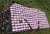 CHALLENGER 78' Horse Cotton Sheet Blanket Rug Summer Spring Pink 5339