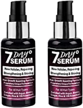 7 Day Serum - Rapid Hair Growth Boosting Serum Formula (Combo Pack of 2)