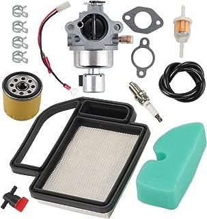 Milttor 20 853 33-S SV590 Carbruetor Fuel Line Oil Air Filter for Kohler 20 853 01-S 02-S 14-S 16-S 33-S 42-S 43-S Kohler SV600 Carburetor SV591 SV601 SV610 SV620 52 050 02-S 25 050 27