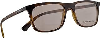 Emporio Armani EA 3110 Eyeglasses 53-18-140 Dark Havana w/Demo Clear Lens 5026 EA3110