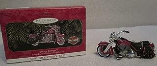 Heritage Springer - Harley-Davidson Motorcyle Milestones - Hallmark Keepsake Ornament - 1999 by Hallmark