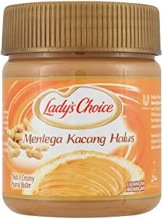 Lady's Choice Peanut Butter (628MART) (Thick & Creamy 170g, 9 Cans)