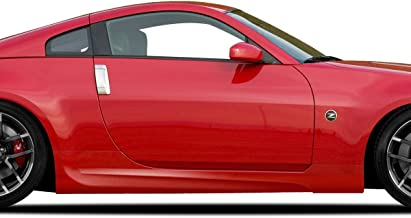 Brightt Couture ED-VZH-907 Urethane AMS GT Side Skirts - 2 Piece Body Kit - Compatible With 350Z 2003-2008