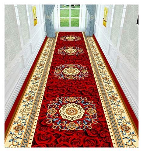 ditan XIAWU Nachtteppich Gang Kann Geschnitten Werden Eingang Schlafzimmer Wohnzimmer rutschfest (Color : A, Size : 60x100cm)