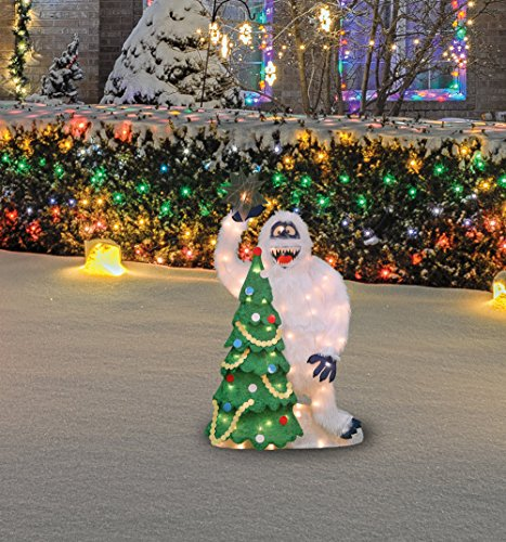 Product Works 32-Inch Pre-Lit Bumble and Christmas Tree