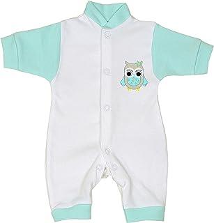 Babyprem Baby Frühchen Kleidung Strampler Overall Mädchen Jungen 32-44cm Eule Pinguin
