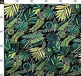 Palmenblätter, Dschungel Blätter, Palmenblätter Stoffe -