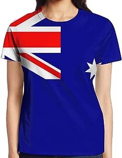 YOIGNG Hawaiian 3D Printed American Flag T-Shirt Short Sleeve Crewneck Tee Pullover Casual Tops