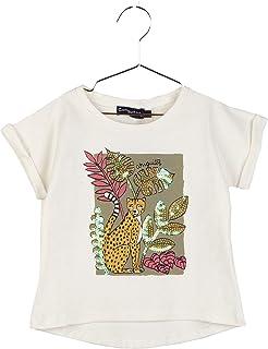 Conguitos Elegance Camiseta, Off White, Normal para Niñas