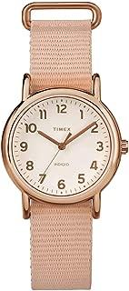 Timex Women's Quartz Watch, Analog Display and Textile Strap TW2R59900
