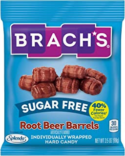 Brach's Root Beer Barrels Individually Wrapped Hard Candy, 3.5oz (Pack of 12)