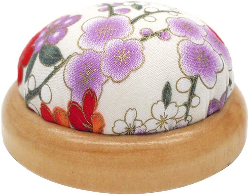 AMLESO Pin Cushion Insertion with Special Wood Base Sewing Tool