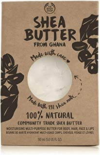 The Body Shop Raw Shea Butter 100% Vegan, 5.1 Oz