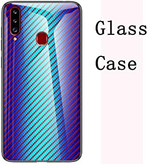 Vivo Z1PRO/Z5X/U3/Y19/Y5S ケース, Portable Fiber Picture Art Glass Background Useful Thin Combined ケース, HUZIGE New Come Prote...