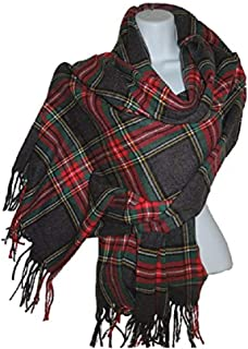 Handmade 100% Cashmere Scarf, Blanket Scarf, Shawl
