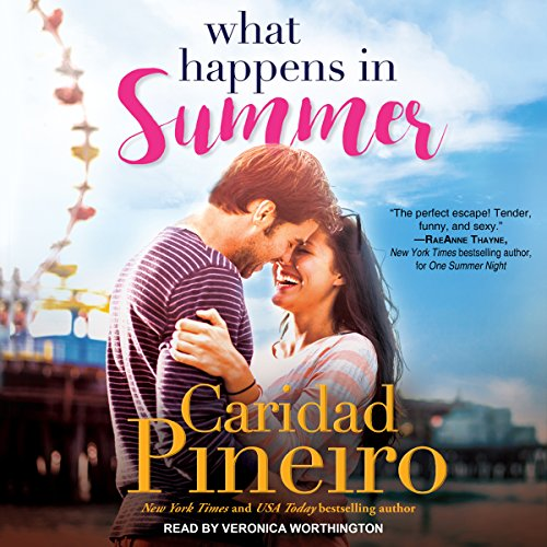 What Happens in Summer     At the Shore Series, Book 2              By:                                                                                                                                 Caridad Pineiro                               Narrated by:                                                                                                                                 Veronica Worthington                      Length: 7 hrs and 39 mins     Not rated yet     Overall 0.0