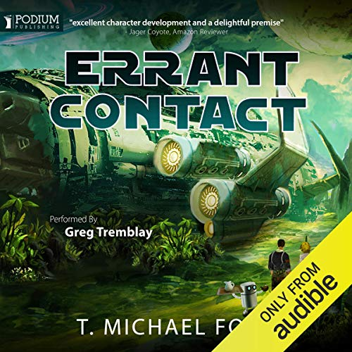 Errant Contact audiobook cover art