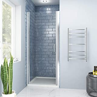 SUNNY SHOWER FP34 Pivot Swing Shower Door, 32.5