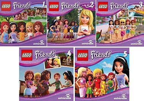 Lego Friends CD 1 - 5 im Set - Deutsche Originalware [5 CDs]