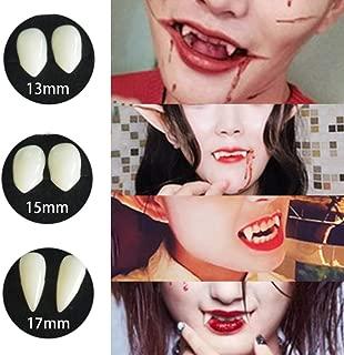 Cosplay Vampire Fangs, 4 Pairs Fake Teeth Horror False Teeth Halloween Party Cosplay Vampire Tooth