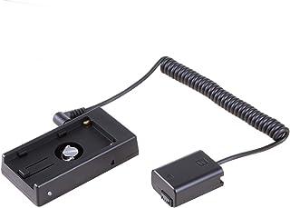 Andoer NP-FW50/Dummy Battery Pack coupleur adaptateur avec DC connecteur m/âle pour Sony A7/A7ii A7R A7S A7rii A7sii A6000/A5000/Ildc Camera