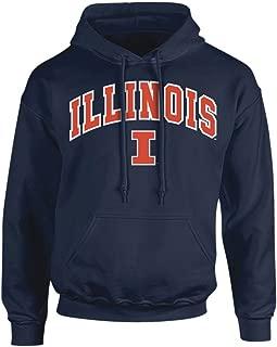 Elite Fan Shop NCAA Men's Hoodie Sweatshirt Team Color Arch