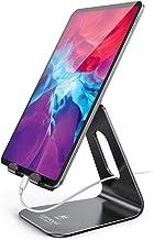 قرص چند زاویه ایستاده ، قرص Lamicall: دارنده قابل تنظیم Dock Cradle سازگار با تبلت هایی مانند iPad Air Mini Pro ، تلفن XS Max XR X 6 7 8 Plus تبلت های بیشتر (4-13 اینچ) - سیاه