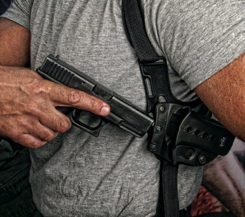 Fobus Concealed Carry Shoulder Holster Pouch Hidden Harness Strap sholder Glock - 17, 22, 23, 34, 35 glouk Tactical