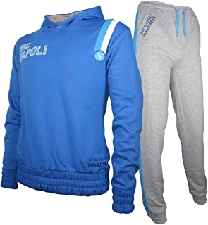 SSC Napoli - Chándal - para niño Azul Celeste M: Amazon.es: Ropa y ...