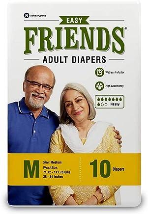 Friends Adult Diaper (Easy) - Medium (10 Count)
