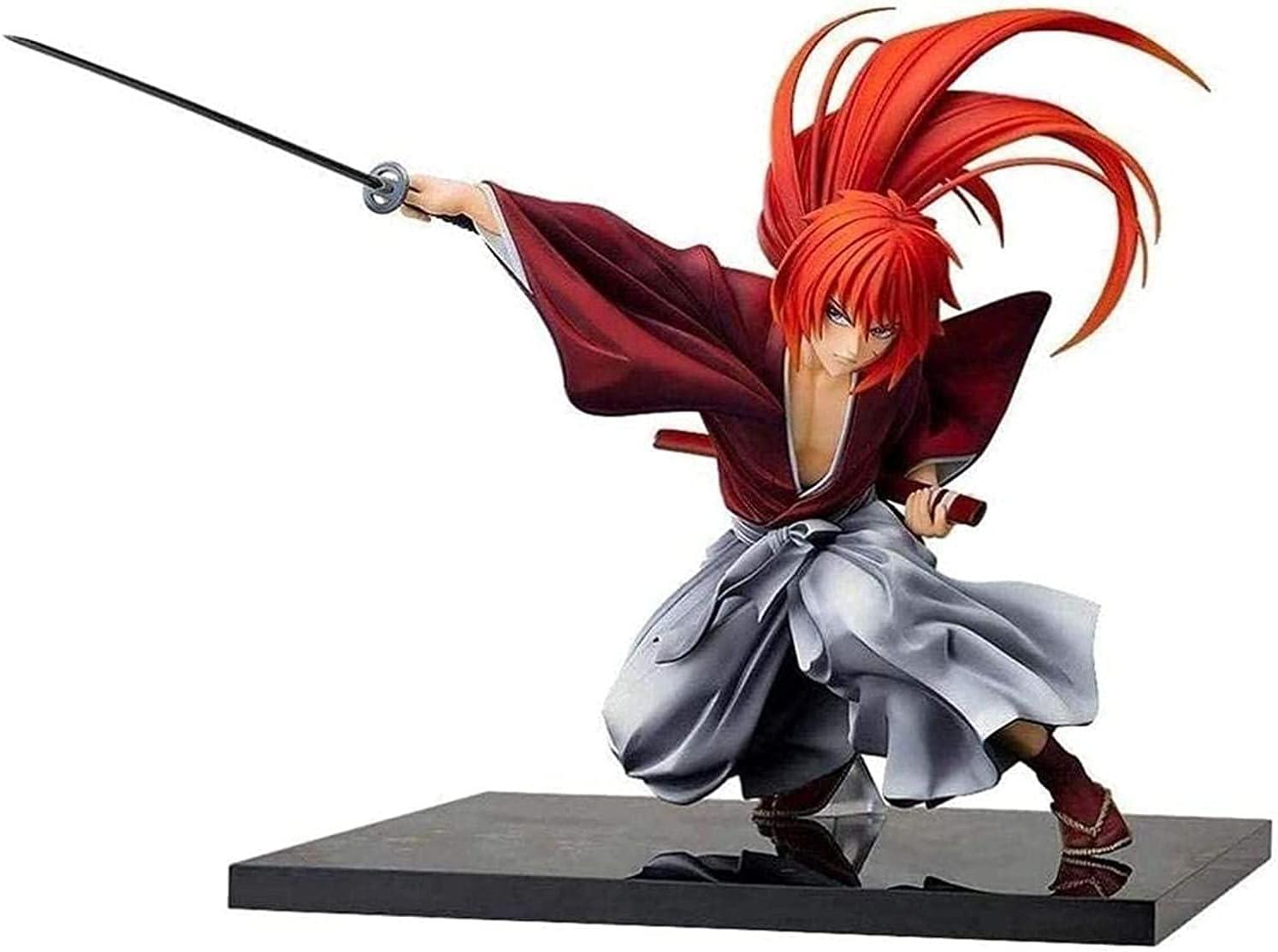 Limited time sale Rurouni Kenshin Anime Action Figure PVC C Himura Figures Branded goods