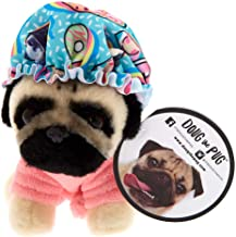 Claire's Doug The Pug Girl's Doug The Pug Bath Time Small Plush Toy - Cream