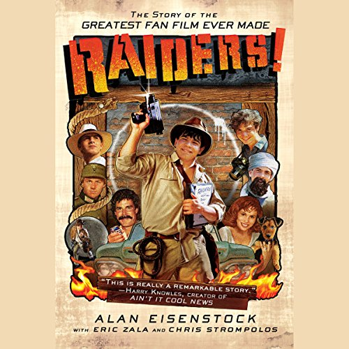 Raiders! audiobook cover art