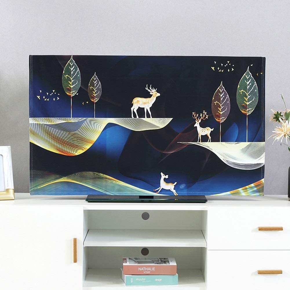 Max 71% OFF TV Cover LCD Ranking TOP14 Golden Dust Decorative Pattern