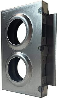 OASIS Gate Lock Box Double Hole 7-1/2