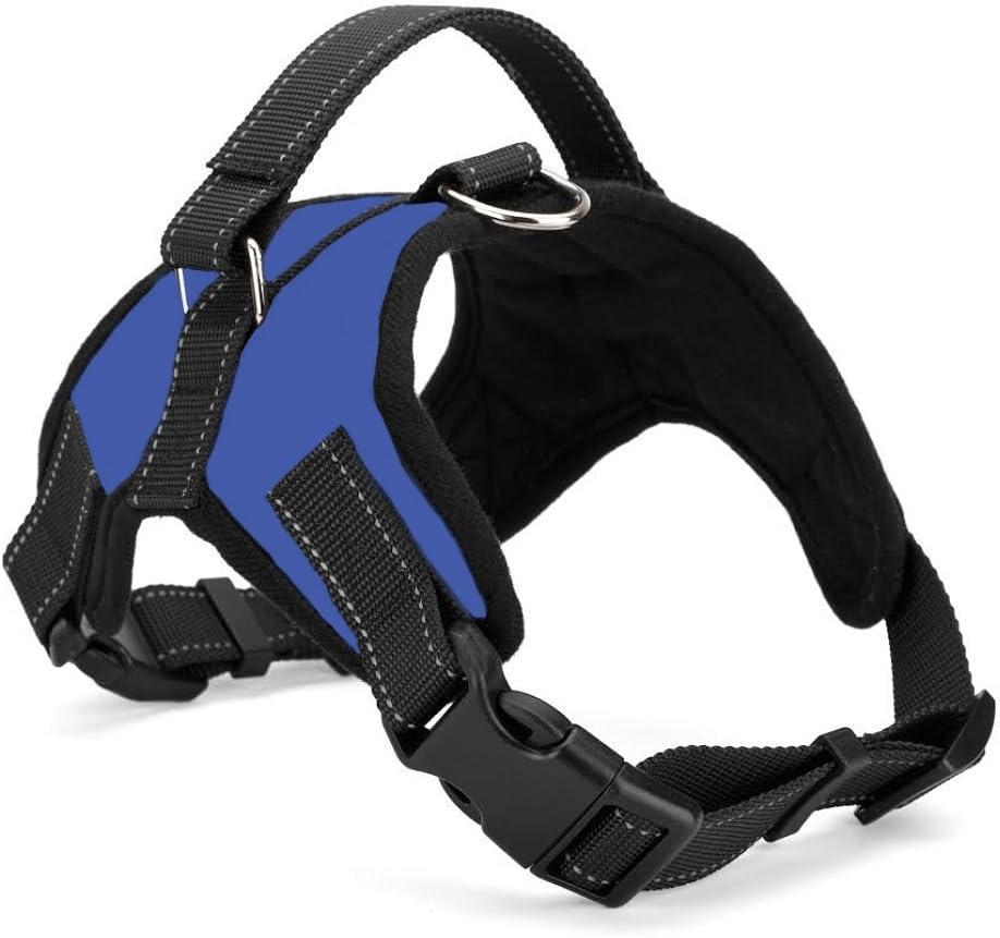 Xanday No Pull Dog Vest Harness, Reflective Dog Body Padded Vest