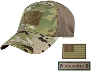 Condor Flex Tactical Cap (Multicam, S/M) + Free PVC Flag Patch