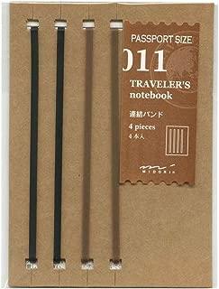 トラベラーズノート パスポートサイズ リフィル 結束バンド 14335-006