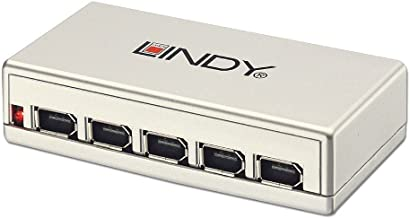 LINDY 6 Port FireWire Repeater Hub (32916)