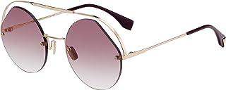 فيندي نظارة شمسية للنساء، عدسة Ff0325/S, اطار دائري
