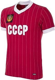 CCCP 1982 World Cup Retro Football Shirt - Camiseta Retro de fútbol con Cuello en V. Hombre
