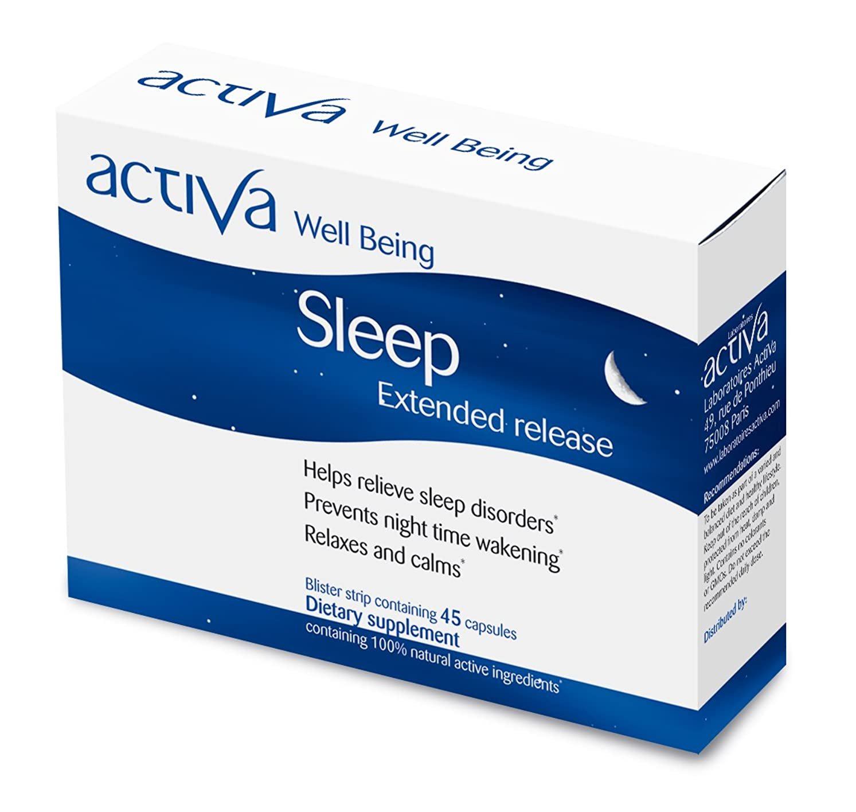 爪細い聴衆(アクティバ) activa 【Well Being】 Sleep スリープ 45カプセル